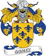 De Gomez Spanish Coat Of Arms www.4crests.com #coatofarms #familycrest #familycrests #coatsofarms #heraldry #family #genealogy #familyreunion #names #history #medieval #codeofarms #familyshield #shield #crest #clan #badge #tattoo #crests #reunion #surname #genealogy #spain #spanish #shield #code #coat #of #arms