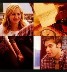 'To help you find your way. Love, Eric.' #LifeUnexpected #LUX