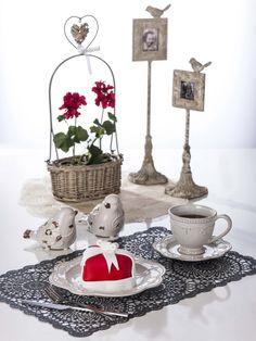 kalp, heart, love, aşk, valentines day, bird, kuş, sevgililer günü, kafes, cage, flower, çiçek, kırmızı, red, teatime, EVDEMODA, dekorasyon, züccaciye