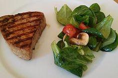 Mariniertes Thunfischsteak, ein tolles Rezept aus der Kategorie Fisch. Bewertungen: 113. Durchschnitt: Ø 4,6.