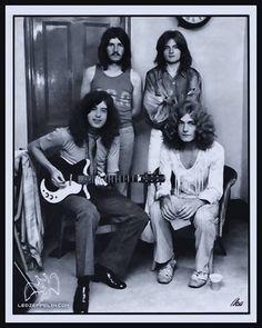 Jimmy Page, Robert Plant,  John Bonham, John Paul Jones