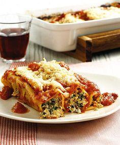 Cannelloni mit Ricotta und Mangold Rezept - [ESSEN UND TRINKEN]
