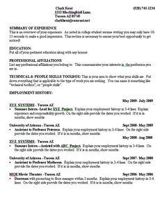 graduate school resume template resume template builder httpwwwjobresume - Professional Resume For College Student