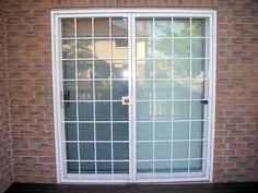 Home Window Grill Design, Grill Door Design, Classic House Design, House Front Design, Window Security Bars, Security Doors, Double Patio Doors, Window Protection, Burglar Bars