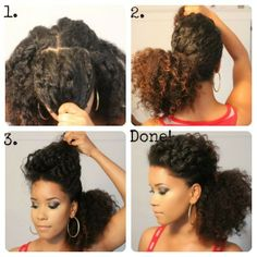 motivational trends: curly hair style idea