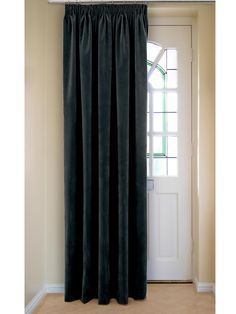 Velour Thermal Dim Out Door Curtains Veryco