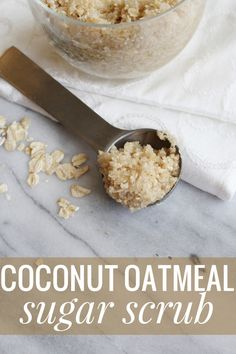 DIY Coconut Oatmeal