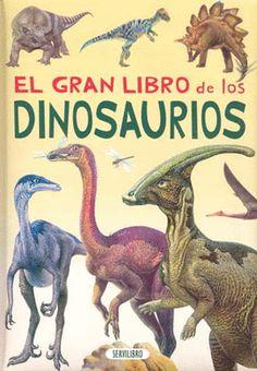 """""""El gran libro de los dinosaurios"""" de John Sibbick Descubre cuáles eran los principales dinosaurios que poblaron la Tierra, como era su aspecto, su altura, los extraños ?adornos? con los que se engalaban (crestas dorsales, picos de pato, pinchos, cuernos), que comían, dónde y cuándo vivieron, y muchas curiosidades más. El libro incluye la apasionte historia de los principales descubrimientos paleontológicos y el estado de la cuestión sobre los grandes enigmas que todavía existen . INF 568…"""