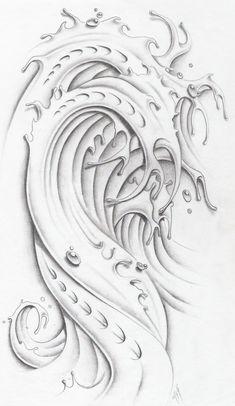 wave tattoo designs   ... -wave-ii-by-markfellows-on-deviantart-n-a-tattoodonkey-tattoo-design