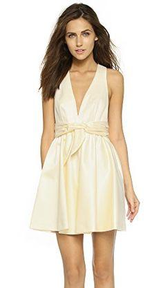 7417902454c Rachel Zoe Womens Beck Sleeveless Tie Waist Dress Ivory 2    You can get  more