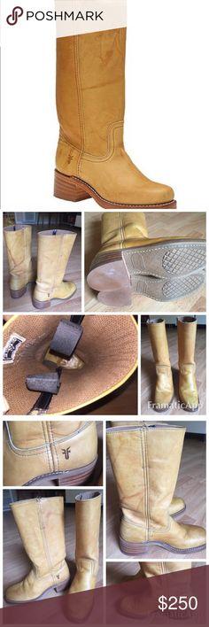 Selling this Frye Campus 14L Boots size 6 $325 excellent! on Poshmark! My username is: westsidefashion. #shopmycloset #poshmark #fashion #shopping #style #forsale #Frye #Shoes