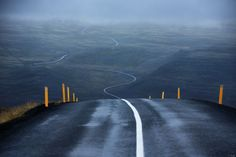 Photo Infinite road - Iceland by Tobias Brunner on 500px