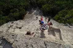 All sizes | Nohoch Mul pyramid at Coba | Flickr - Photo Sharing!