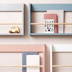 Etagère murale à livres - Bleu gris Flexa Play pour chambre enfant - Les Enfants du Design Kids Bedroom, Baby Room, Sweet Home, New Homes, Shelves, Wood, Projects, Play, House
