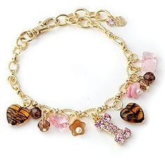 @Overstock - Buddy G's Austrian crystal  dog collar has a rhinestone dog bone, heart, flower and beads  Pet jewelry is gold plated  Pet supplies that are fun and fashionable http://www.overstock.com/Pet-Supplies/Buddy-Gs-Austrian-Crystal-Charm-Dog-Collar/4494982/product.html?CID=214117 $24.99