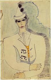 Federico garcia Lorca: dibujo.