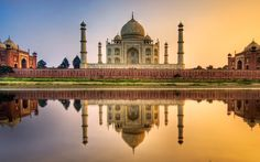 Agra-Delhi Delhi, Agra Agra is one of the prominent destinations of the World Tourism map with three heritage monuments - The Taj Mahal, Fatehpur Sikri & Red Fort.