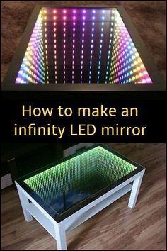 27 best infinity table images infinity mirror mirrors infinity rh pinterest com