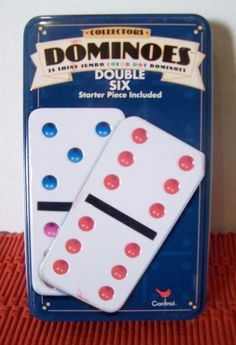 New Set of Double Six Dominoes Cardinal Industies starter piece included