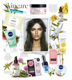 """""""Skincare"""" by laurabosch on Polyvore featuring beauty, too cool for school, Nivea, Boohoo, SkinCare, tarte, Forever 21, Lancôme and skincare"""