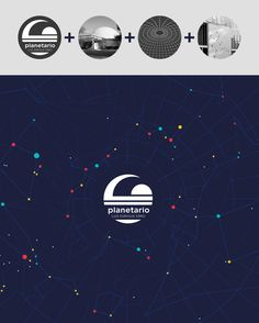 planetarium identity proposal by jimena morgade, via Behance