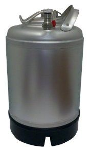 2.5 Gallon Keg New Ball Lock Connections Great for Homebrew! by Varies. $91.47. Pressure Relief Built into Lid. Made of Stainless Steel. Ball Lock Connections - Gas in & Liquid out. Single Handle metal handle with rubber boot bottom. 2.5 Gallon Capacity. Great size for smaller spaces the NEW 2.5 gallon keg is an awesome little addition to any home brew set up.   This Ball Lock keg has a pressure relief valve built into the lid making it easy to keep your brew fresh!