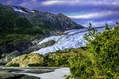 Taken just north of Seward at Exit Glacier, part of the Harding Ice Field. from Alaska.org   Expert Travel