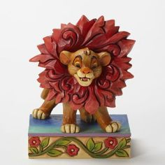 Enesco Disney Traditions by Jim Shore Lion King 'Just Can't Wait To Be King' - Simba figure (Jim Shore) from Fantasies Come True