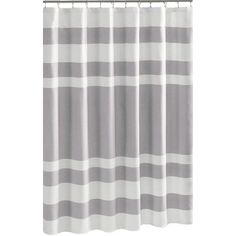 Landon Shower Curtain in Grey
