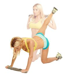 The Pull-Down Plus targets your upper body, back and butt. Be done with Tracy Anderson's entire sexy-back-and-butt #workout in 15 minutes.