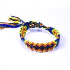 Ce #bracelet #brésilien croisé orange mettra du peps dans vos tenues !