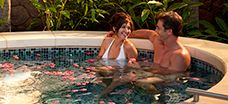 "KULA WAI - The only outdoor hydrotherapy garden on O'ahu, Kula Wai offers private vitality pools, mineral baths, ""rain"" showers, whirlpool jet spas and more."