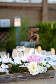 Wedding Table Numbers - Wedding Decorations - Etsy
