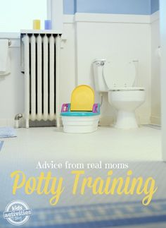 {Real Mom Solutions} Potty Training Tips Tricks - Kids Activities Blog