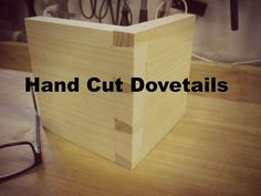 On this week's show, I demonstrate how I practice cutting hand cut dovetails. Paper Shopping Bag, Hands, Wood, Home Decor, Decoration Home, Woodwind Instrument, Room Decor, Timber Wood, Trees