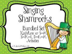 Singing Shamrocks: Bundled Set of So-Mi, So-Mi-La and Do-Re-Mi Solfege Activities for the Kodaly Music Classroom