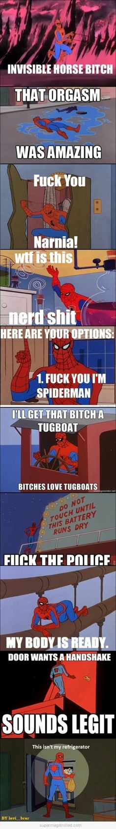 '60s Spiderman Meme