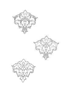 17-islamic Persian Pattern Pattern Images, Pattern Art, Pattern Design, Islamic Art Pattern, Arabic Pattern, Persian Pattern, Persian Motifs, Motif Arabesque, Graph Paper Art