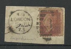 1858 1d Red Plate NUmber (CC) Plate 120 with Large 3 in Diamond Cancel on piece.  | eBay