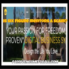 Welcome to my Six Figure Mentors Review. There are so Many Online BusinessTeaching Platforms Is Six Figure Mentors a Scam or Is IT ne You Can Trust? Business Marketing, Online Business, Mentor Training, First Website, Business Opportunities, Training Programs, Starting A Business, Affiliate Marketing, Platforms