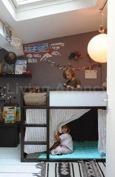 the boo and the boy: Ikea Kura bed again
