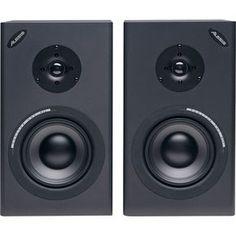 Alesis Monitor One MkII Passive speakers. Got them. Love them. Run HDtracks > laptop > Schiit Modi > Pioneer VSX817 > Alesis speakers. Amazing!