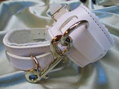 Leather AB/DL Nursery Restraint Cuffs Pair by SubSpaceLeathers1
