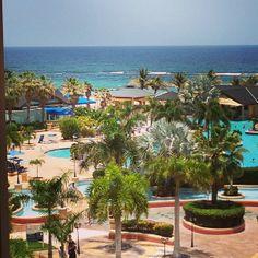 Pool View At The St Kitts Marriott Beach Resort Swim Up Bar