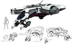 Angara Fighter from Mass Effect: Andromeda