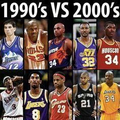 90s vs 00s NBA Allstars