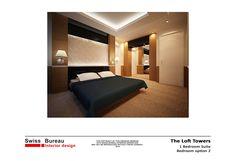 Residential - Bed room  design by Swiss Bureau Interior Design LLC