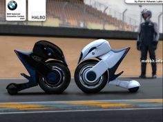 Not Another Geek Website - News: BMW Halbo - Super-futuristic bike ...