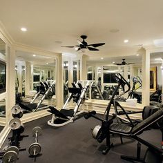 12 best luxurious living home gym images  at home gym