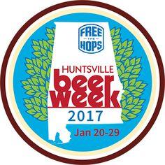Huntsville Beer Week (2017) Badge on #Untappd